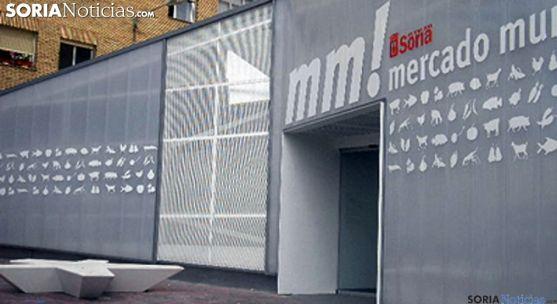 Imagen del mercado provisional en la calle Concepciones./SN
