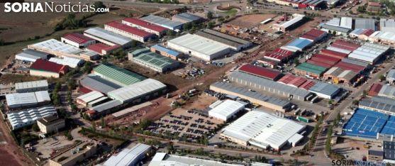 Imagen aérea del polígono industrial. /SN