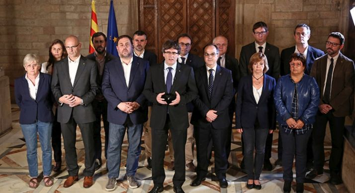 El gobierno catalan. govern.cat