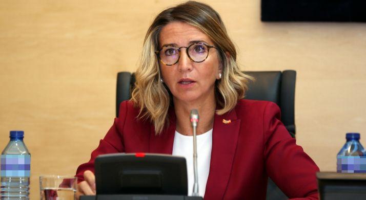Alicia García, consejera de Familia e Igualdad este lunes. /Jta.