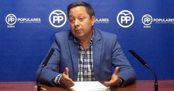 Adolfo Sainz, concejal del PP en el Ayuntamiento de la ciudad.