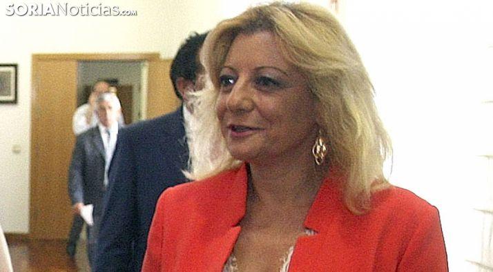 Ascensión Pérez, presidenta de ANFAR Soria./SN