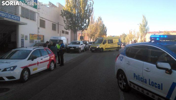 Imagen del lugar tras el accidente./SN