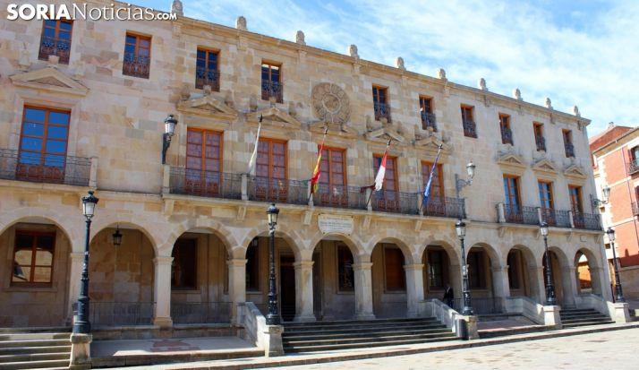 Imagen de archivo de la sede del Ayuntamiento capitalino./SN