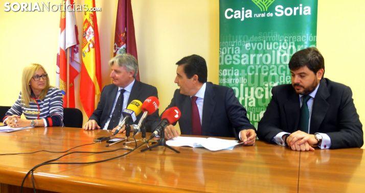 Blanca García, Joaquín García-Medall, Carlos Martínez y José María Carrizosa./SN