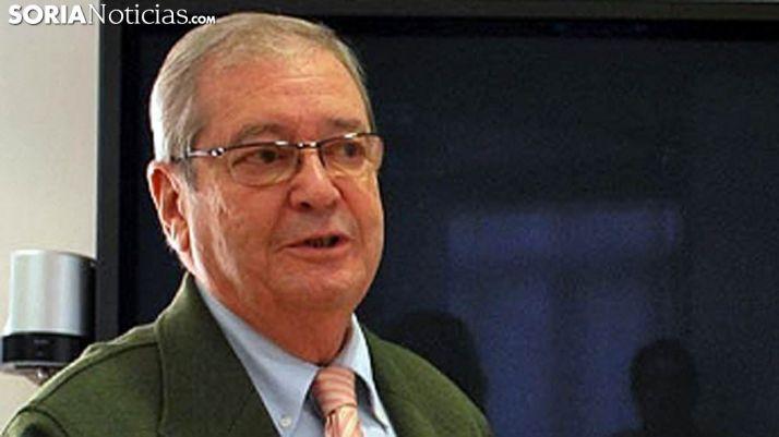 Ángel Crespo preside el Banco de Alimentos en Soria./SN