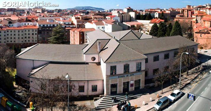 Edificio de la Escuela de Arte y Diseño en la capital./SN