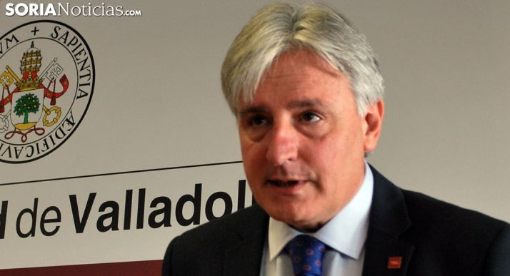 Joaquín García-Medall, vicerrector del Campus Universitario Duques de Soria. /SN