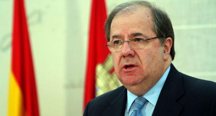 Juan Vicente Herrera, presidente de Castilla y León.