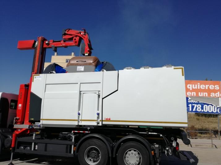 Foto 2 - El servicio de recogida de residuos de la Diputación de Soria amplía su flota de vehículos