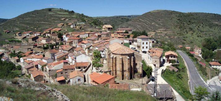 Una imagen de la localidad vista desde su castillo.