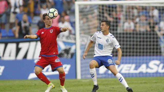 El Numancia logra un punto en Tenerife (1-1)