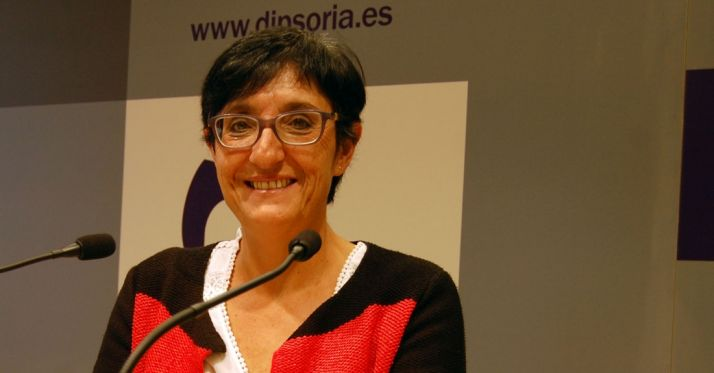 Pilar Delgado, responsable de los servicios sociales de la Diputación.