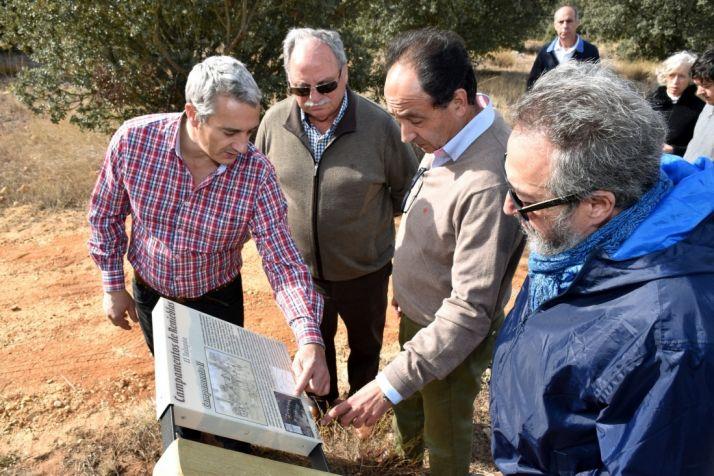 Foto 2 - La Junta finaliza los trabajos de señalización de los campamentos romanos de Renieblas