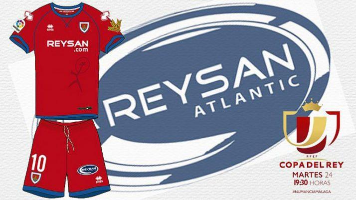 Foto 1 - Reysan Atlantic, patrocinador principal del CD Numancia en la eliminatoria de Copa