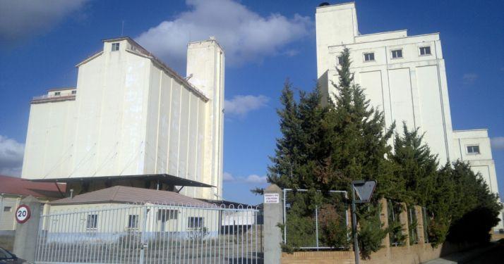 El silo de Almazán./Subdeleg.