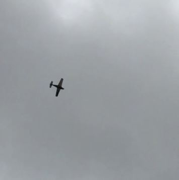 Foto 1 - Video: ¿Así se llevan las avionetas las lluvias de Soria?
