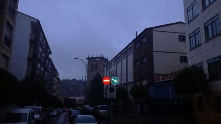 El centro de la ciudad, esta mañana. SN