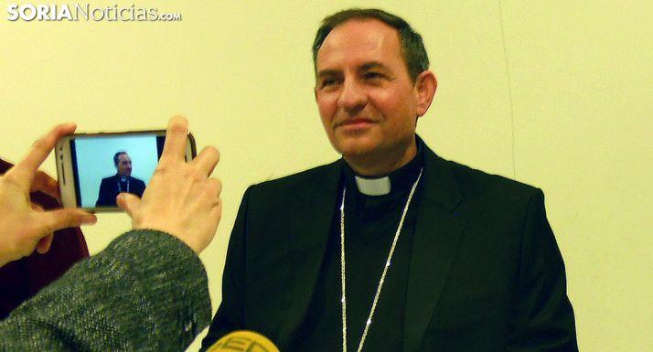 Abilo Martínez Varea, obispo de Osma-Soria./SN