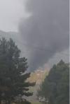 Foto 2 - Arde una cochera en Navaleno