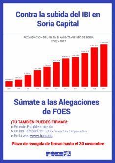 Foto 3 - FOES presentará alegaciones al IBI con las firmas de empresarios y  de particulares
