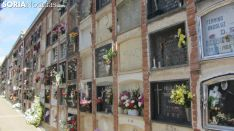 Cementerio de Soria, día de Todos los Santos. SN