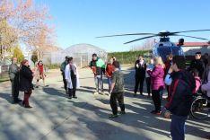 Imagen de la jornada en el Santa Isabel este martes. /S. del G.