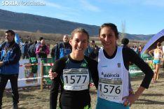 Solange Pereira y Esther Guerrero, primera y segunda en el cross corto de Valonsadero.