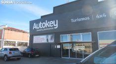 Las instalaciones de Autokey en la Avenida Valladolid.