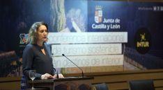 Mª Josefa García Cirac este jueves en Intur.