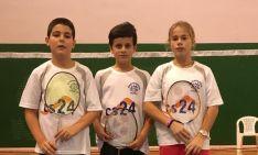 Jorge Ayllón, Adrián Díez y Daniela Corchón