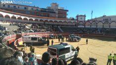 Una imagen de la plaza de toros este martes./SN