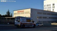 Imagen de la entrada al servicio de Urgencias del Santa Bárbara. /SN