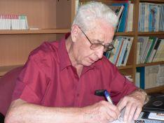 Luis Heras, presidente de la Casa de Soria en Barcelona. /Archivo