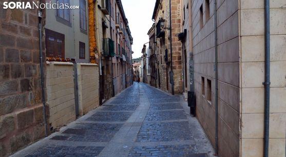 Una de las calles del Casco. /SN