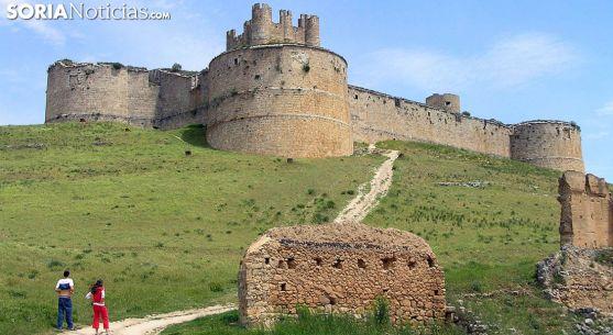 El castillo de Berlanga de Duero. /SN