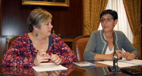 Pilar Delgado y Judith Villar. /Dip.