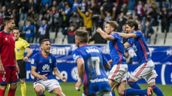 El Numancia cae en Oviedo,.