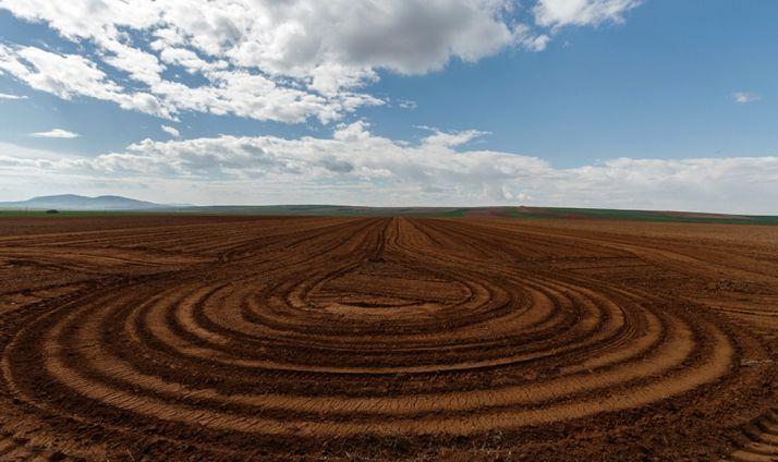 La imagen ganadora, 'Geometría en marzo'.