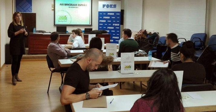 Las entrevistas se realizan en la sede de FOES.