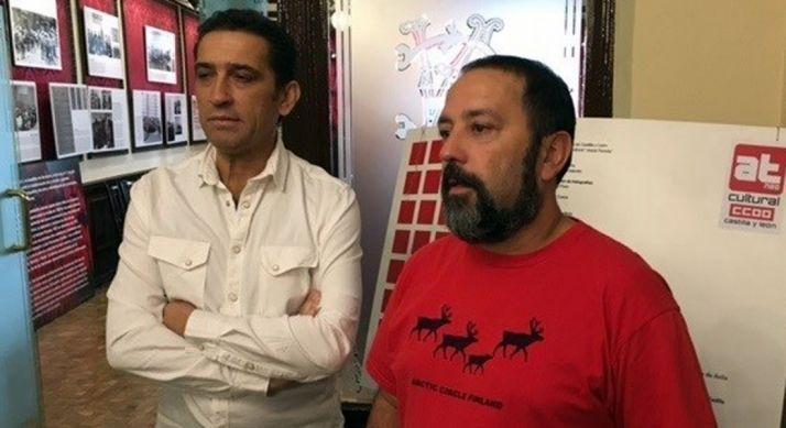 Vicente Andrés (izda.) y Javier Moreno. /EP