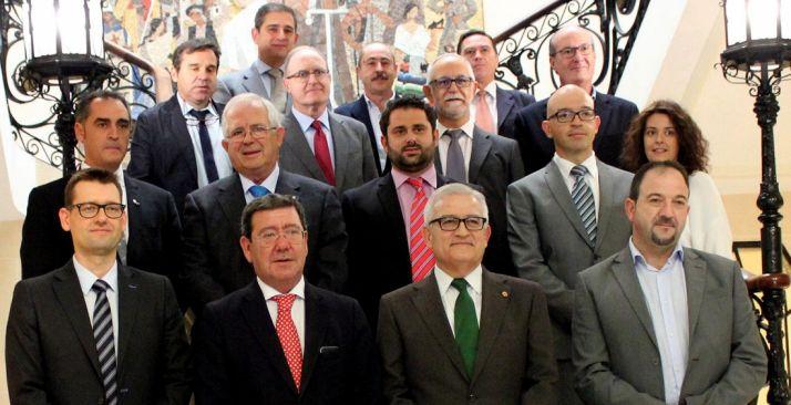 Representantes institucionales del Consejo del Camino del Cid.