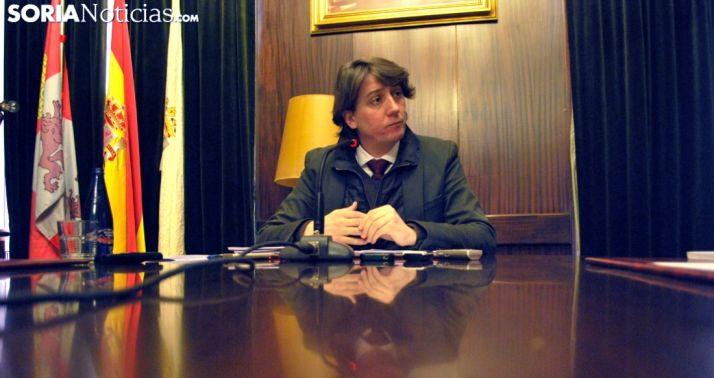 Carlos Martínez, alcalde de la capital soriana. /SN