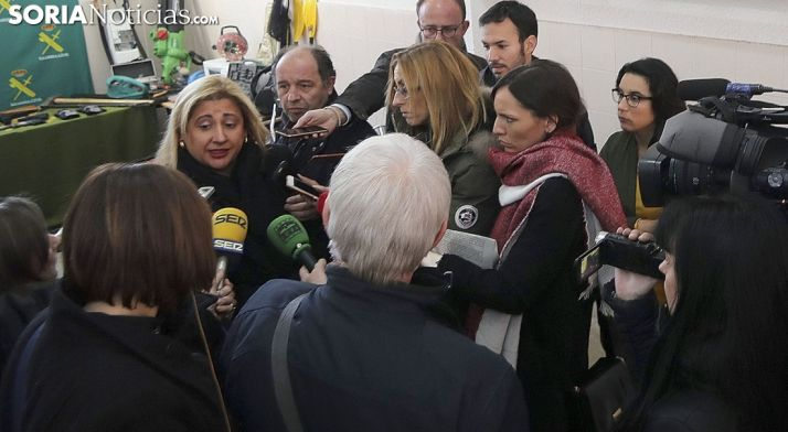 Yolanda de Gregorio, este miércoles ante los medios informativos. /SN