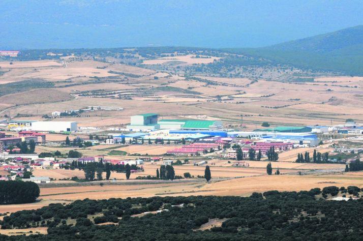 Polígono Industrial de Ólvega.
