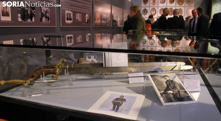 Algunos de los objetos exhibidos./SN