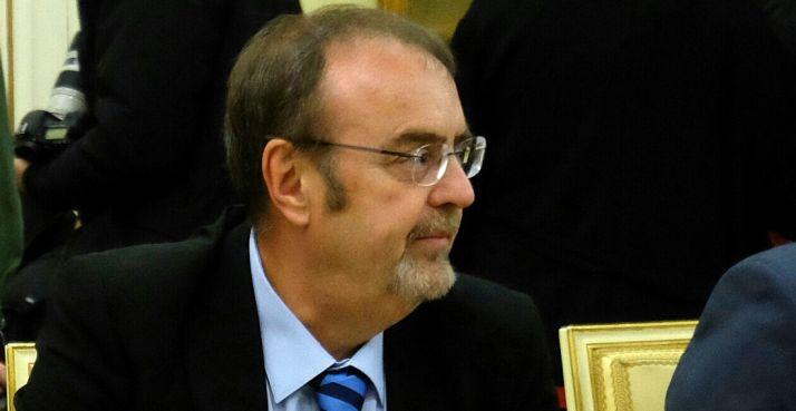 El consejero de Educación, Fernando Rey.