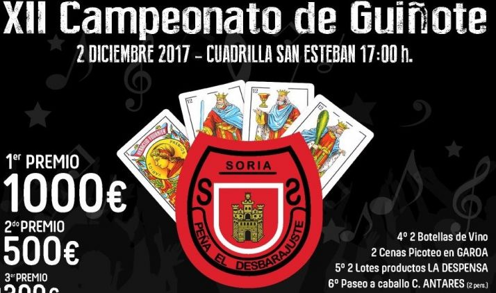 Foto 1 - La Peña El Desbarajuste organiza su XII Campeonato de Guiñote