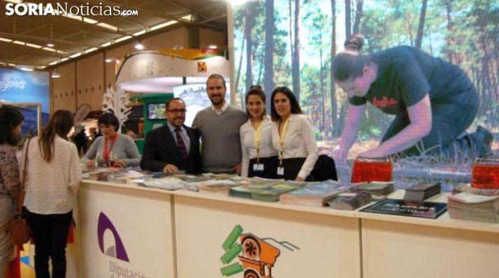 Imagen del stand de Soria en Intur./SN