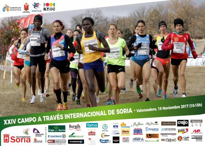 Foto 2 - El Cross de Soria muestra su nueva cartelería